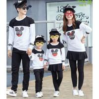 Set Baju Kaos Couple Family ( Ayah,Ibu $ Anak )