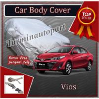 selimut sarung cover body mobil sedan vios free pengikat ban