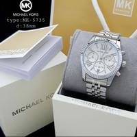 jam tangan Michael Kors original silver