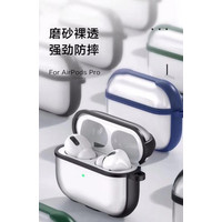 AP-01 Case Airpods Pro Bahan Arcylic Clear Doff Transparan Cover Soft