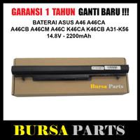 Baterai Asus A46 A46CA A46CB A46CM A46C K46CA K46CB