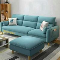 sofa L  sofa minimalis