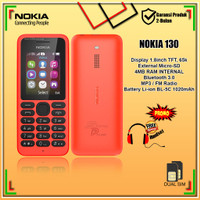 Hp Nokia 130 New Garansi Handphone Nokia Jadul 130 Baru Murah !!!