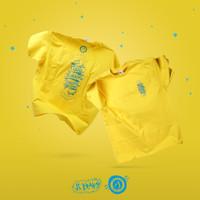 T-Shirt IJ Liquid Kurang Terkenal - Yellow
