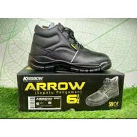 Sepatu Safety Sepatu Pengaman Arrow 6 Inch Original Krisbow