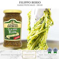 FILIPPO BERIO CLASSIC PESTO SAUCE 190 ML