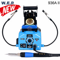 WEP 936A II New Robot Soldering Kit Iron Dudukan Penjepit Cooper Busa