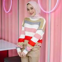LOLIPOP SWEATER - Atasan Wanita - Baju Rajut Ala Kore