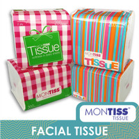 Montiss Compact Interfold Tissue 200 Sheets 4 in 1