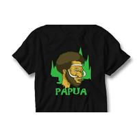KAOS - BAJU - TSHIRT ORANG PAPUA - JONG PAPUA