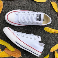 SEPATU Allstar Converse Sneakers Kasual Warna Putih Grade Original