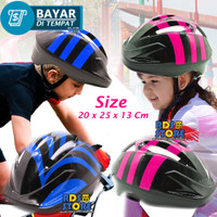 026-4 Speeds Helm Sepeda Anak Cycling Gunung Helmet Pelindung Kepala