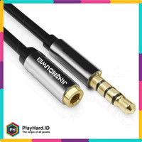 Kabel Aux Audio Extension 3.5mm Male to Female 2M