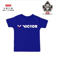 Kaos Baju Anak Victor Logo Badminton Kaos Sport - Karimake