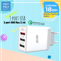 Lolypoly Home Charger Qualcomm QC 3.0 186 - Putih