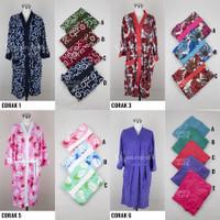 KIMONO Handuk Kimono Renang Wanita Dewasa Baju Mandi