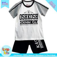 Logokids Baju Setelan Anak Laki-Laki Murah Motif Oshkosh 1-10 Tahun