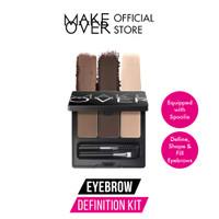 MAKE OVER Eye Brow Definition Kit 6.9 g - Eye Brow Palette