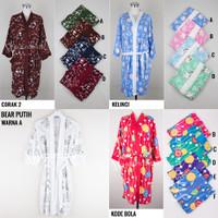 KIMONO Handuk Kimono Renang Wanita Dewasa Baju Mandi BATHROBE