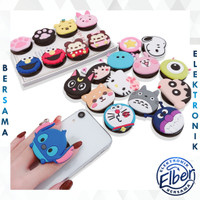 POP SOCKET KARAKTER CARTOON CUTE 3D POP SOCKET MURAH BATAM IMPORT