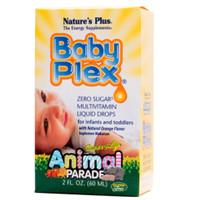 Natures Plus Baby Plex Multivitamin Liquid Drops 60ml animal parade