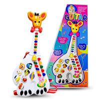 mainan Gitar piano Jerapah Animal Farm Guitar Mainan Gitar Anak Mainan