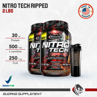 Muscletech Nitrotech Ripped 2 Lbs Nitro Tech Ripped Whey+Fat loss - CHOCOLATE