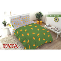 Bed Cover set 180X200 FATA King no 1 Baby Carrot - Sprei Badcover