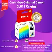 Cartridge Tinta Canon CL811 CL-811 811 Printer MP287 MX328 MX338 MX347