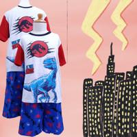 Baju Tidur Anak GS (Jurassic Dino) St. Lgn Pdk Cln Pdk