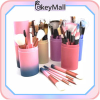 OkeyMall U26 Set Kuas Alat Makeup Kosmetik Brush Makeup 12 in 1