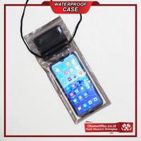 Waterproof Case Hp Size XL Anti Air Sensitive Touch Termurah - Hitam
