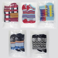 [Bundle] Socky x Never Too Lavish Complete - 5 Pasang Kaos Kaki