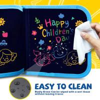 Mainan Edukasi Anak Laki Laki 2 Tahun Balita Buku Gambar Warna Merah