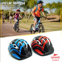 SPEEDS LX 026-4 HELM SEPEDA CYCLING ANAK UNISEX