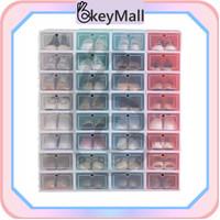 OkeyMall U36 Kotak Sepatu Plastik Tebal Serbaguna /Tempat Penyimpanan