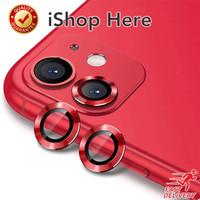 Aluminium Protector Anti Gores Pelindung Kamera iPhone 12 Mini Pro Max