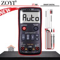 Zoyi ZT A6 Pengukur Arus Listrik Digital Multitester AC DC 1mF NCV