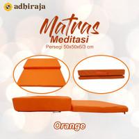 Matras / Bantal/Alas Meditasi (Bantal doa/duduk) Orange