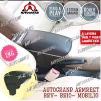 ARMREST HONDA BRIO type SUPERIOR Full Cover Mbtech