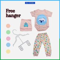 Baju Bayi Jumper Setelan Baju Celana Pria Cowo Laki Perempuan Wanita