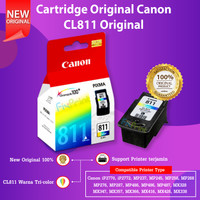 Cartridge Tinta Canon CL811 CL-811 Printer iP2770 iP2772 MP237 MP245