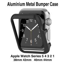 Apple Watch Aluminium Metal Bumper Case Series 6 54321 38/42mm 40/44mm