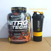 Muscletech Nitrotech 4 Lbs 4Lbs 4 Lb 4Lb Nitro Tech Whey Protein