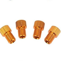 Adaptor Pentil Sepeda Presta Konverter Pentil Ban - Gold