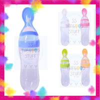 Botol Sendok Makan Bayi Silikon, Best Seller!