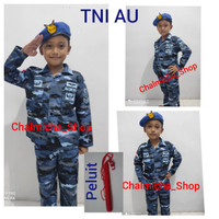 Baju Doreng Loreng TNI-AURI / Seragam Profesi Anak