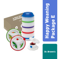 Dr. Brown's Happy Weaning Package E / Giftset Bayi