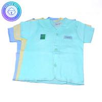 Baju Lengan Pendek Bayi Newborn Warna Hachi 3Pcs
