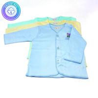 Baju Lengan Panjang Bayi Newborn Warna Hachi 3 Pcs